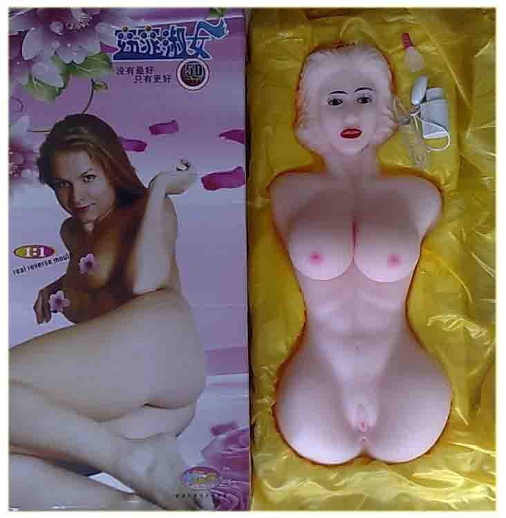 Slim Body Silicone Sex Doll